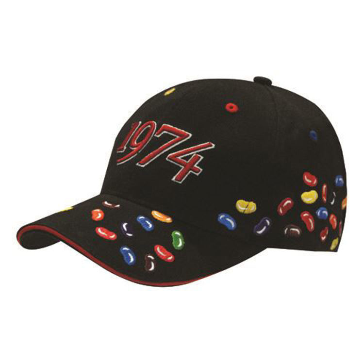 Picture of 6Pnl BHC Embroidered Jelly Bean Cap
