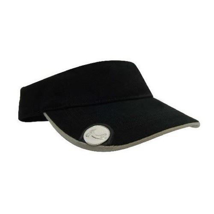 Picture of Brushed Heavy Cotton with Magnetic Ball Marker on Peak GolfCap