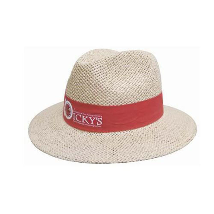 Picture of Natural Madrid Style String Straw Hat