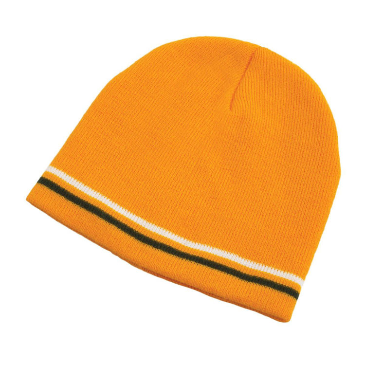 Picture of Double Stripe Acrylic Beanie