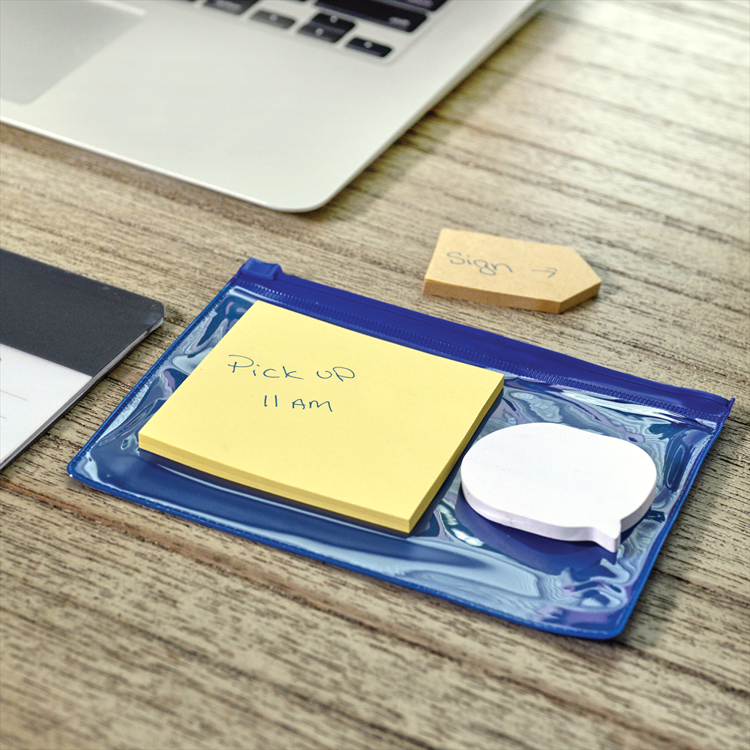Picture of Sticky Notes in Pouch